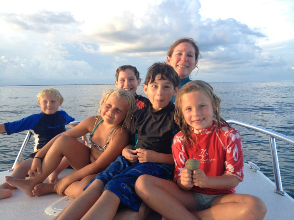 Alligator Hall, Sarah Sanford, Lobstering in Keys, Mini Lobster Season, Marathon, Lobster, Florida Lobster, lobstering with kids